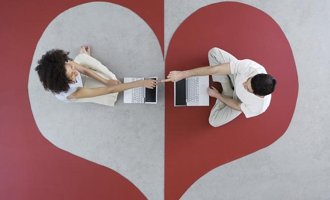 encontrar pareja corazon pareja ordenadores